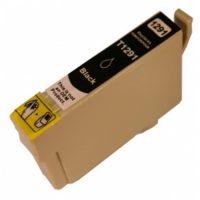 1291 - Cartouche d'encre équivalent EPSON T1291 compatible « Pomme » Noir
