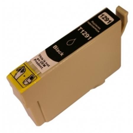 1294 - Cartouche d'encre équivalent EPSON T1294 compatible « Pomme » JAUNE