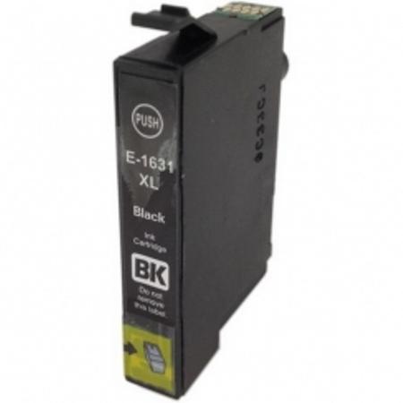 1631 - Cartouche d'encre équivalent EPSON T1631 compatible « Stylo plume » NOIR XL