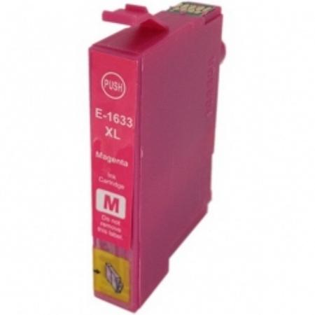 1633 - Cartouche d'encre équivalent EPSON T1633 compatible « Stylo plume » MAGENTA XL