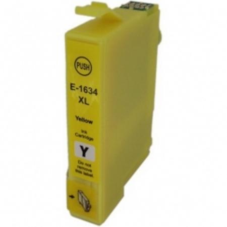 1634 - Cartouche d'encre équivalent EPSON T1634 compatible « Stylo plume » JAUNE XL