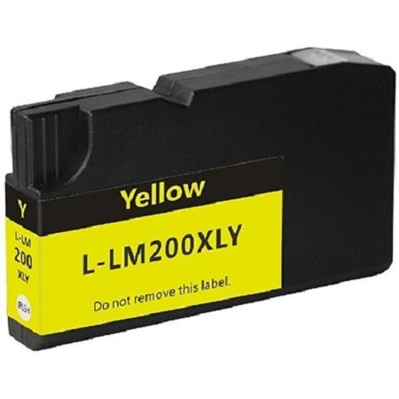 Lexmark 210XL - cartouche d'encre compatible Lexmark 14L0177E Jaune