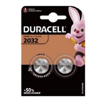 """DURACELL Lot de 2 Piles bouton lithium""""Electronics"""" CR2032"""