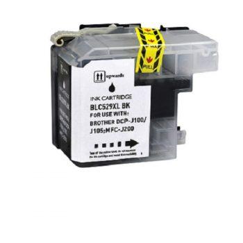 Cartouche d'encre équivalent BROTHER LC 529BK compatible (LC529) Noir