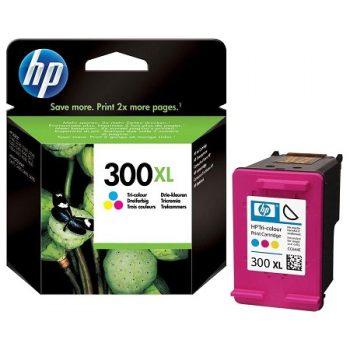 300-HP 300XL Cartouche d'encre Trois couleurs grande capacité authentique (CC644EE)