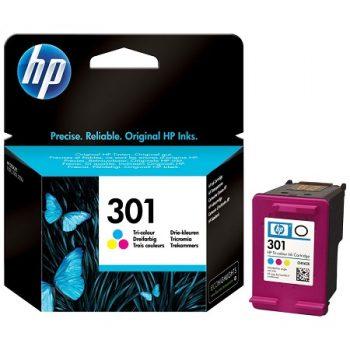 301 - HP 301 Cartouche d'encre originale TRICOLOR (CH562EE) encre vivara HP301