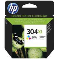 304 - HP 304XL Cartouche Trois couleurs (Cyan,Magenta,Jaune) originale grande capacité (N9K07AE)