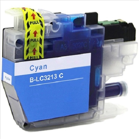Cartouche d'encre équivalent BROTHER LC 3213 compatible (LC3213) Cyan