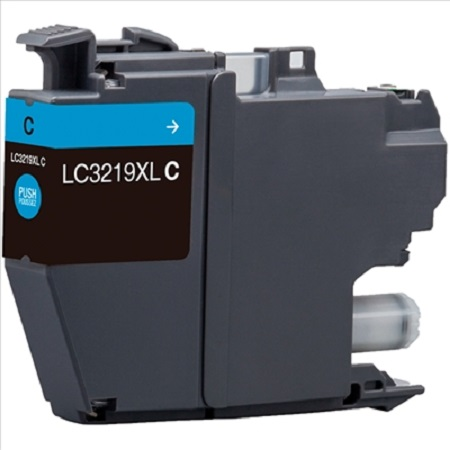 Cartouche d'encre équivalent BROTHER LC 3219 compatible (LC3219) Cyan
