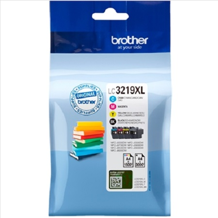 Cartouche d'encre Originale BROTHER LC 3219 XL (LC3219) PACK 4 COULEURS