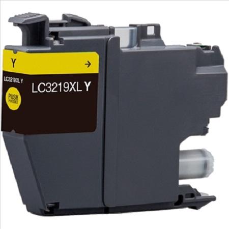 Cartouche d'encre équivalent BROTHER LC 3219 compatible (LC3219) Jaune
