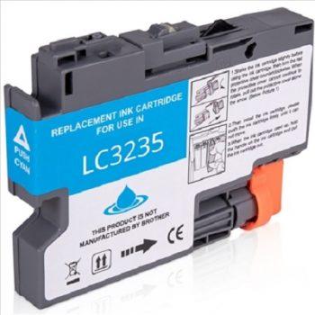 Cartouche d'encre équivalent BROTHER LC 3235 compatible (LC3235) Cyan