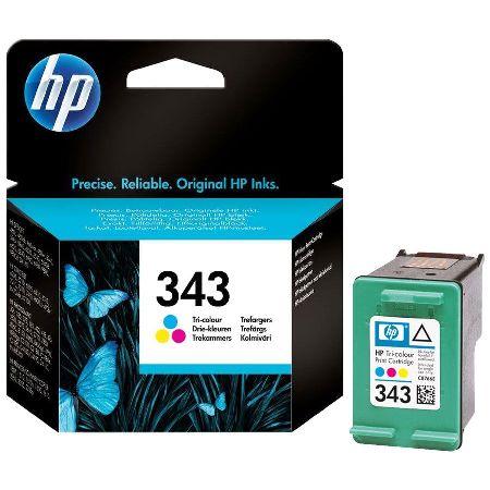 343 – Cartouche d'encre originale HP-343 C8766EE (HP343) TRICOLOR