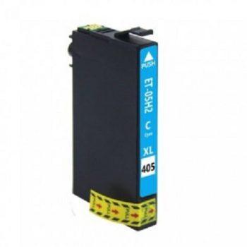 405 - EPSON 405 Compatible ( série valise) Cartouche Cyan XL C13T05H24010/C13T05G24010