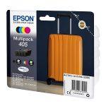 405 - EPSON 405  ( série valise) Pack 4 cartouches originales C13T05H64010