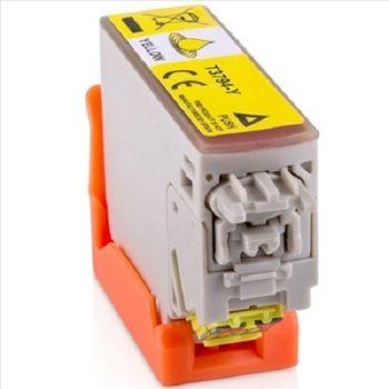 378 - Cartouche EPSON compatible T3794 - 378XL Série Ecureuil Jaune XL