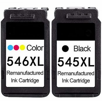 Cartouche d'encre équivalent CANON PG 545XL et CL 546XL compatible Noir et Tricolor