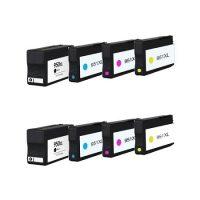 950/951 - Cartouche d'encre équivalent HP-950XL-HP-951XL compatible (HP950/HP951) PACK 8 CARTOUCHES XL / 4 COULEURX XL