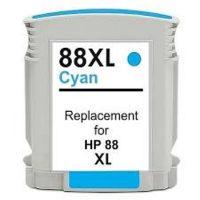 88 - Cartouche d'encre équivalent HP-88XL compatible C9391AE (HP88) CYAN XL