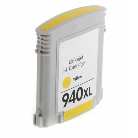 Cartouche d'encre équivalent HP 940 XL compatible C4909AE (HP940) Jaune XL