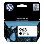 963 - Cartouche à la marque orignale HP 963 Noire 3JA26AE