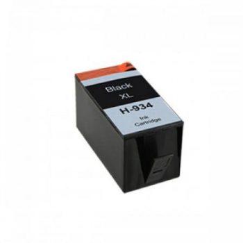 934 - Cartouche d'encre équivalent HP 934XL-C2P23AE compatible (HP934) NOIR XL