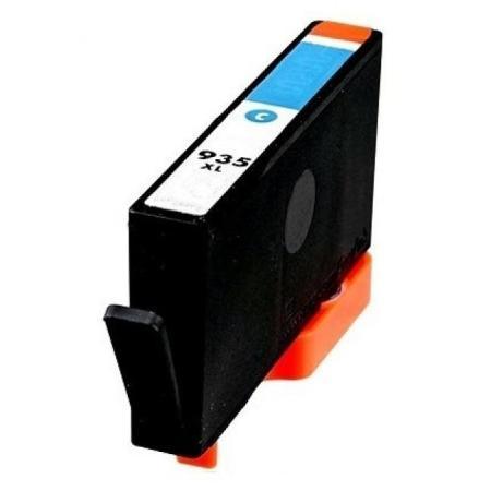 935 - Cartouche d'encre équivalent HP-935XL-C2P24AE compatible (HP935) CYAN XL