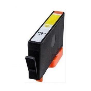 935 - Cartouche d'encre équivalent HP-935XL-C2P26AE compatible (HP935) JAUNE XL