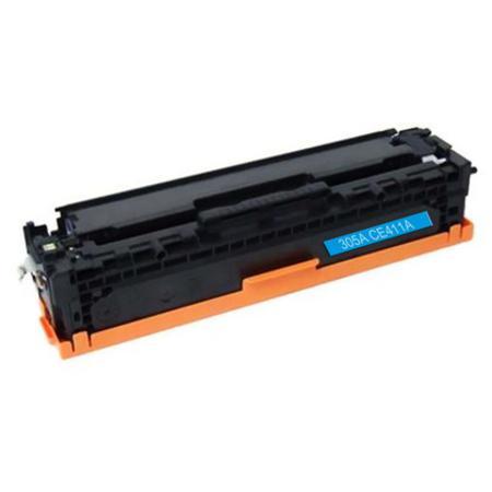 305 – Toner laser équivalent HP-305A compatible CE411A (HP305) TONER CYAN