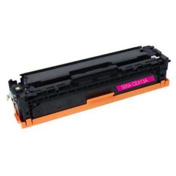 305 - Toner laser équivalent HP-305A compatible CE413A (HP305) TONER MAGENTA