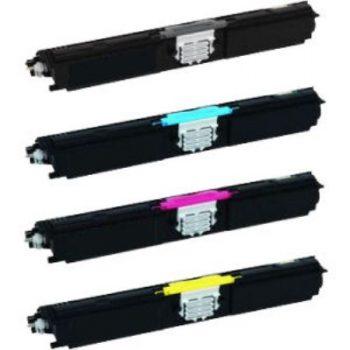 16 - Toner laser équivalent EPSON CX16 compatible S050557-S050556-S050555-S050554 PACK 4 COULEURS