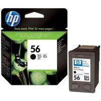 56 - Cartouche d'encre ORIGINALE HP 56  (HP56) C6656A NOIR