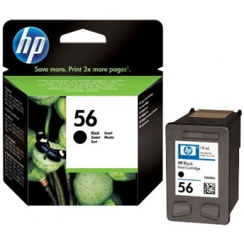 56 - Cartouche d'encre ORIGINALE HP-56 (HP56) C6656A NOIR
