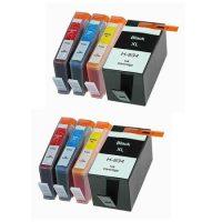 935/934 - Cartouche d'encre équivalent HP-934XL-HP 935XL compatible (HP934/HP935) PACK 8 CARTOUCHES XL / 4 COULEURS XL