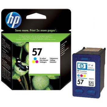 57 - Cartouche d'encre ORIGINALE HP-57 (HP57) C6657EA TRICOLOR