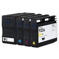 933/932 - Cartouche d'encre équivalent HP-933XL-HP-932XL compatible C2P42AE  (HP933-HP932) PACK 4 CARTOUCHES XL