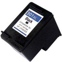 301 - Cartouche d'encre équivalent HP-301XLBK compatible CH563EE (HP301) NOIR XL
