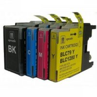 1280 -  Cartouche d'encre équivalent BROTHER LC-1280VALBP XL compatible (LC1280) PACK 4 COULEURS