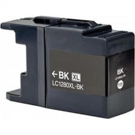 1280 - Cartouche d'encre équivalent BROTHER LC-1280XLBK compatible (LC1280) NOIR