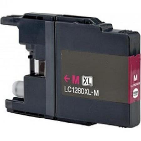 1280 - Cartouche d'encre équivalent BROTHER LC-1280XLM compatible (LC1280) MAGENTA