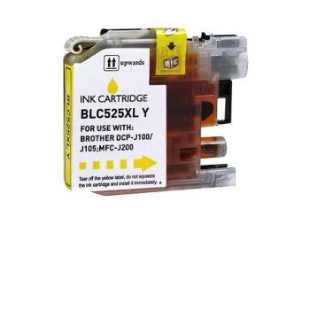 Cartouche d'encre équivalent BROTHER LC 525 Y compatible (LC525) Jaune
