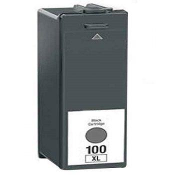 100 - LEXMARK 100XL - Cartouche d'encre compatible équivalent 14N1068E - NOIR XL