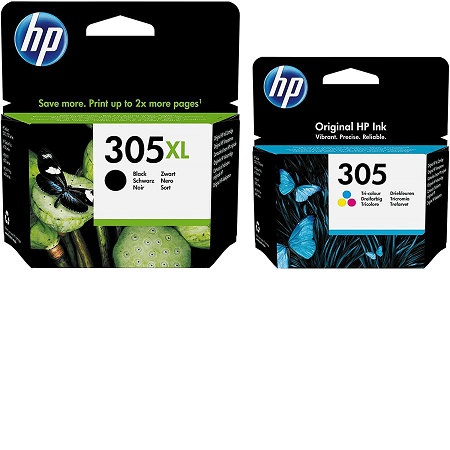 HP Multipack HP 305 (3YM62AE/3YM60AE) Noir XL et couleurs en capacité simple