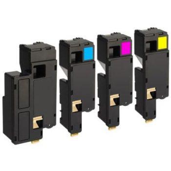 1700 - Toner laser équivalent EPSON C1700 compatible PACK S050614-S050613-S050612-S050611 4 COULEURS