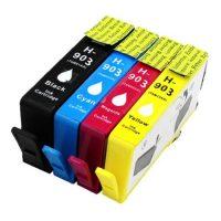 903 – Cartouche d'encre équivalent HP-903XL compatible PACK (HP903) 4 COULEURS XL