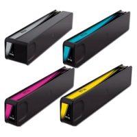 970/971 – Cartouche d'encre équivalent HP 970/971 compatible CN625AE CN626AE CN627AE CN628AE PACK 4 COULEURS XL
