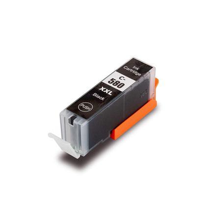 580 – Cartouche d'encre équivalent Canon PGI-580PGBK XXL compatible (PGI580XXL / 1970C001) XXL