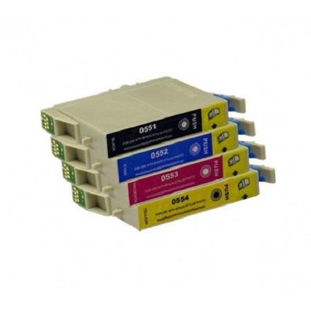 0556 – Cartouche d'encre compatible équivalent EPSON T0556  – PACK 4 CARTOUCHES