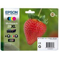 2996 - EPSON Multipack Fraise 29XL Encre Claria Home 4 couleurs 30,5ml