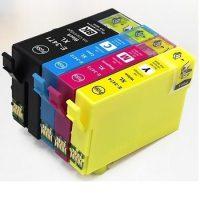 3476 - Cartouche d'encre équivalent EPSON T3476 compatible « BALLE DE GOLF » Pack 4 Couleurs XL